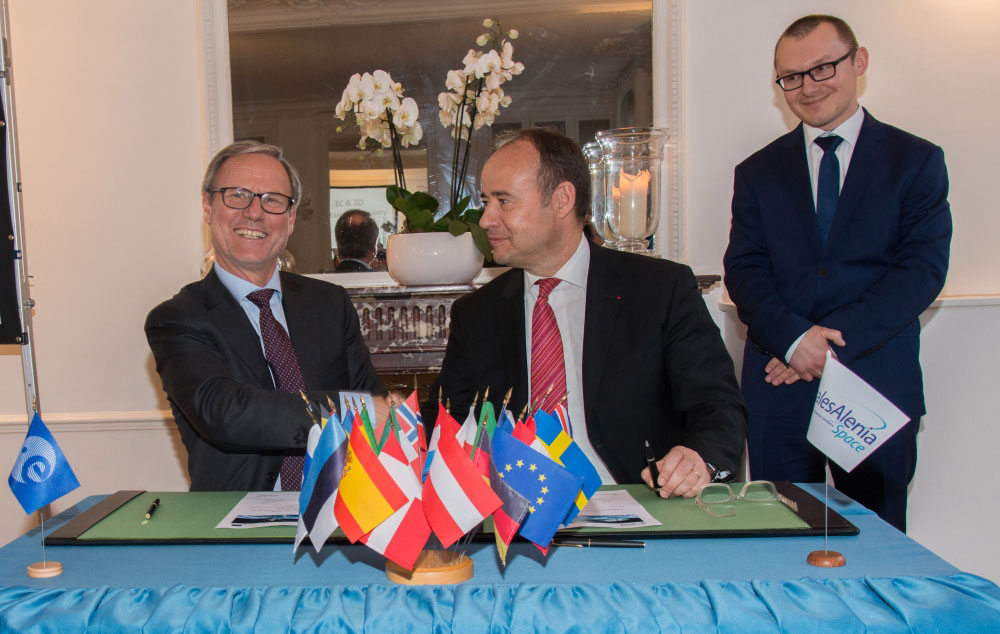 Thales Alenia Space signe un contrat de 450 M€ avec l'ESA
