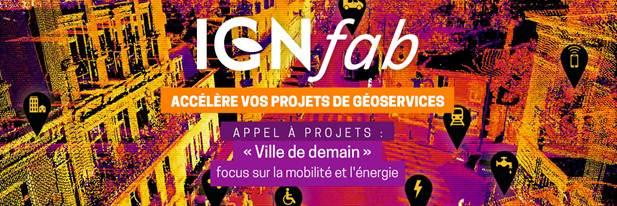 4ème appel à projet IGNFab villes de demain