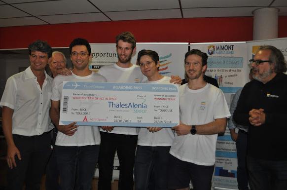 LYCIE remporte la 3ème édition du #ActInSpace PACA !