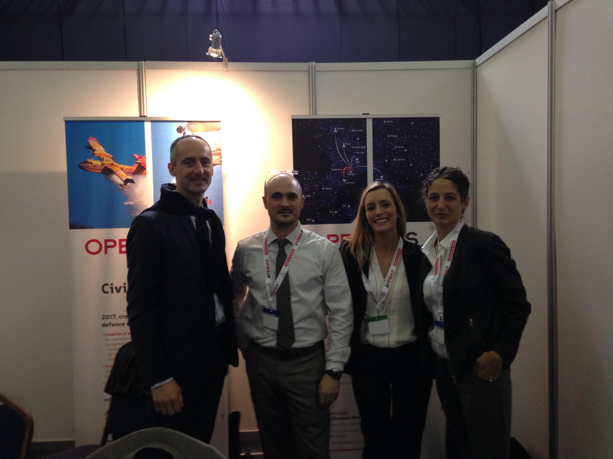 Jean Michel Dumaz du Pôle SAFE Cluster et l'équipe Openîmes