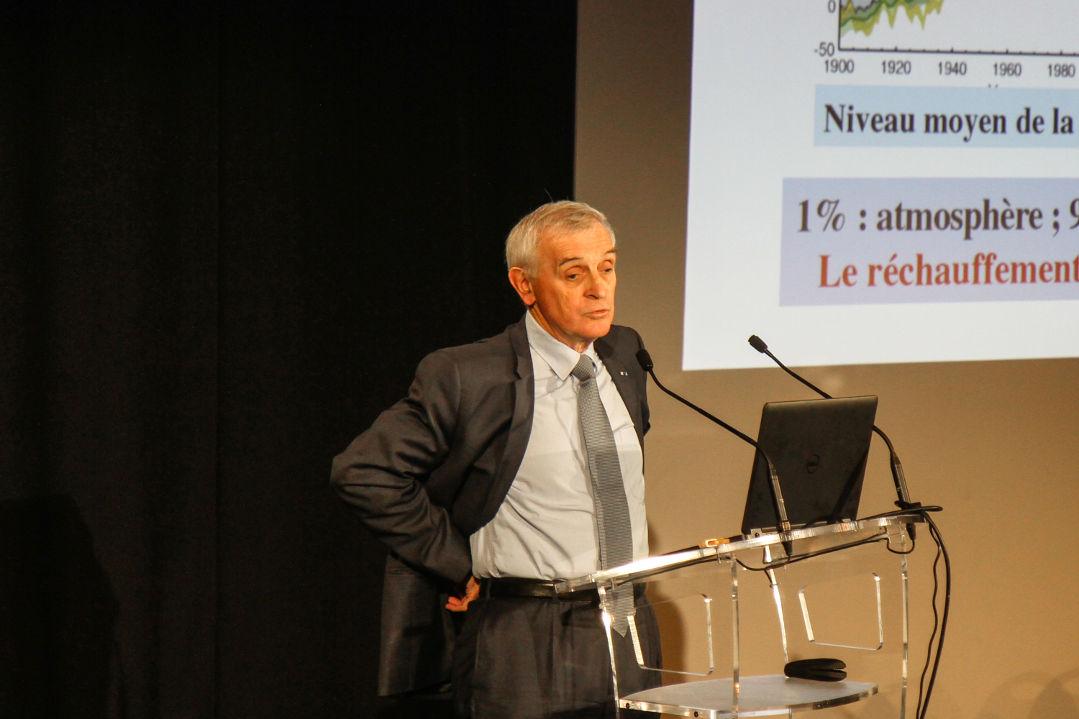 Prix Nobel de la Paix et climatologue Jean Jouzel-R Herzfeld
