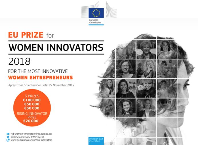 Lancement du prix européen des femmes innovatrices 2018