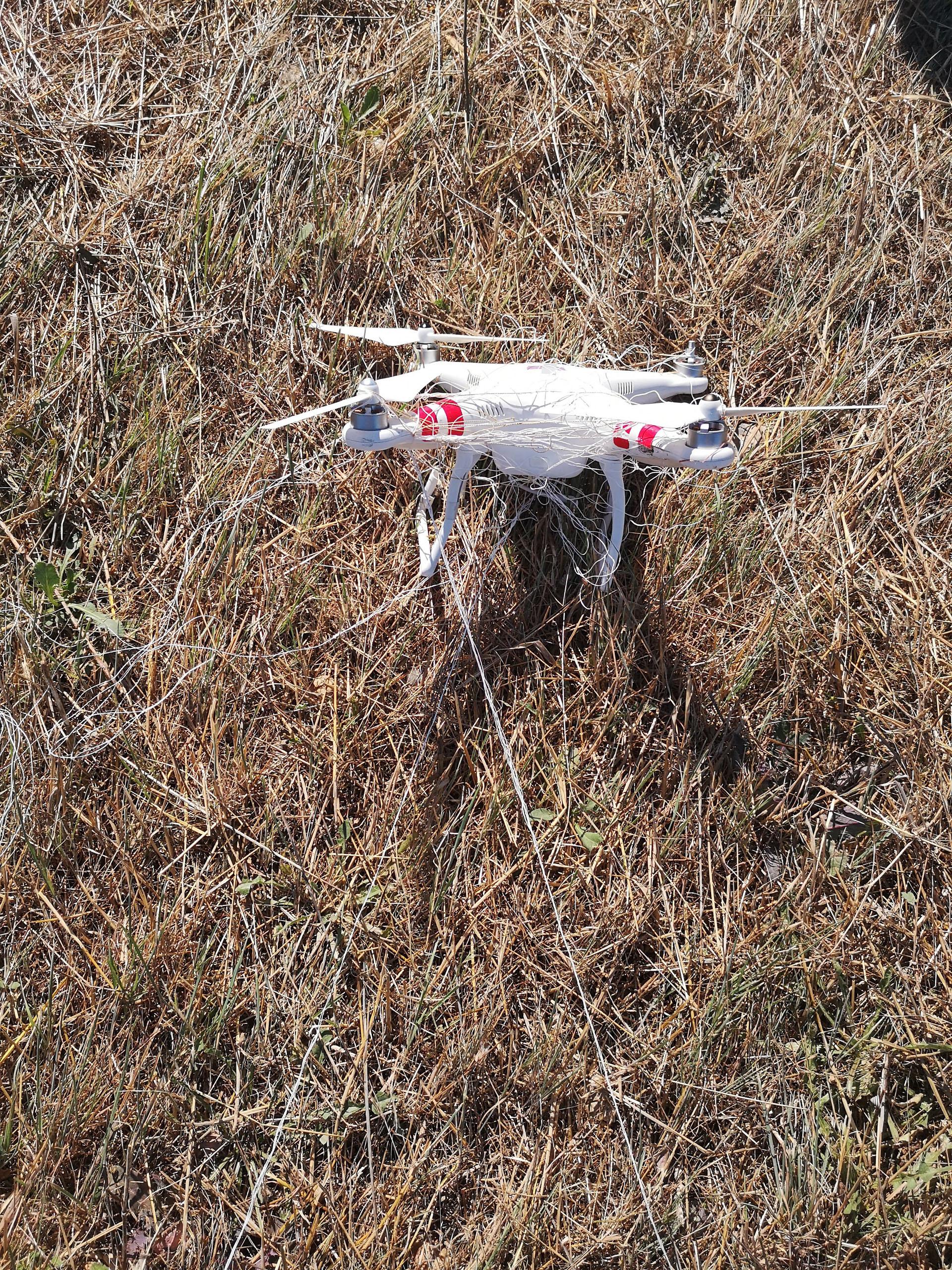 Droptec et son filet anti-drone