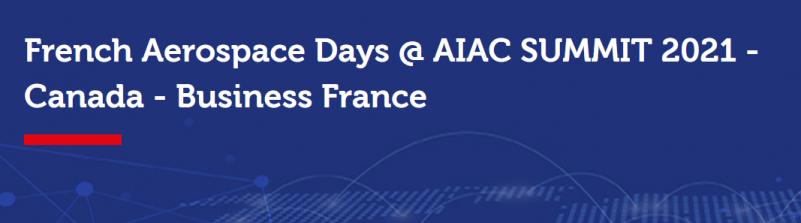 French Aerospace Days @ AIAC SUMMIT 2021