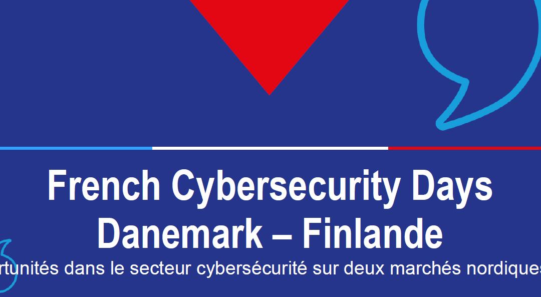 French Cybersecurity Days Danemark – Finlande